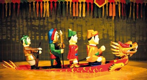 ナイトハノイ水上人形劇ツアー